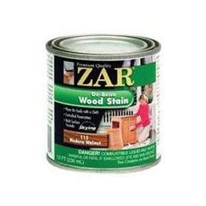 Half Pint Modern Walnut Zar® Oil Based Wood Stain: Home Improvement
