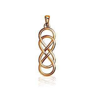 Small Double Infinity Symbol Charm, Best Friends Forever