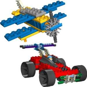 Knex Revving Racers and High Flyers 10 Model Building Set