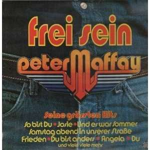 FREI SEIN LP (VINYL) GERMAN TELEFUNKEN 1980 PETER MAFFAY Music