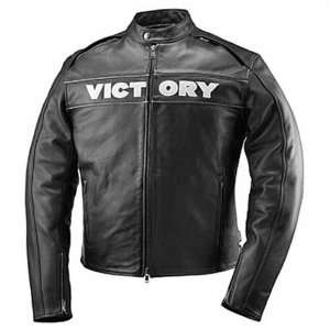 Victory Motorcycles Mens Corp Leather Jacket 3X Large pt