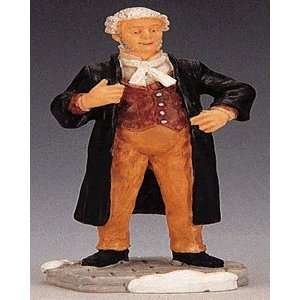 Christmas Village Collection Barrister Figurine #02400