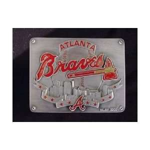 ATLANTA BRAVES TRAILER OFFICIAL HITCH COVER: Sports