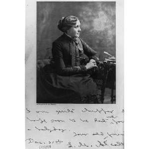 1889 Louisa May Alcott(1832 1888) Novelist,Little Women