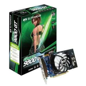 ECS nVidia GeForce 9800GT 512 MB DDR3 VGA/DVI/HDMI PCI