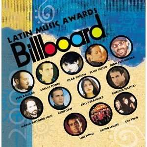 Billboard Latin Music Awards 2000 Various Artists Music