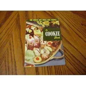 The cookie book,: Ruth Berolzheimer: Books