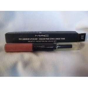 MAC PRO LONGWEAR LIPCOLOUR FINE & MELLOW / CLEAR Beauty