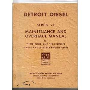Engine Units (6 SE 102 Rev 6 76) Detroit Diesel Engine Division
