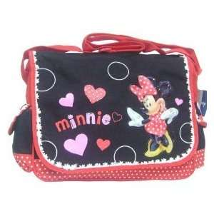 Disney Minnie Mouse Messenger Bag   Happy Hearts Baby