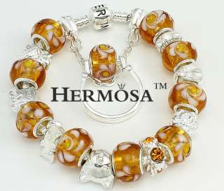Hermosa Set Garfield Gold Diamond Silver Bracelet+Ring