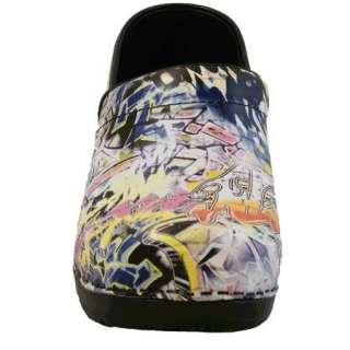 Sanita Professional Graffiti Zoey Clogs   Brand NEW