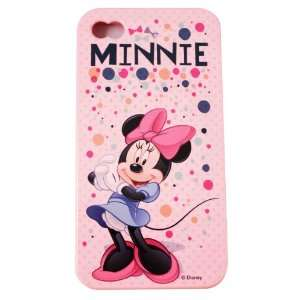 Disney ® Minnie Mouse Flexible TPU SKIN Protector Case Cover (Pink