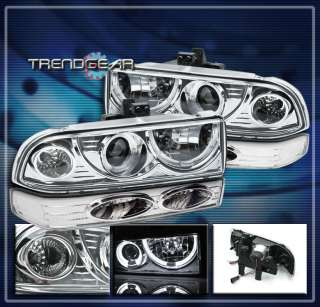 CHEVY BLAZER S10 HALO PROJECTOR HEAD LIGHT+BUMPER SIGNAL 2002 2003 ZR2