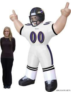 Baltimore Ravens NFL Large 8 Ft Inflatable Football Player