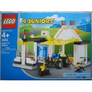 LEGO 4 Juniors 4655 Quick Fix Gas Service Station Toys