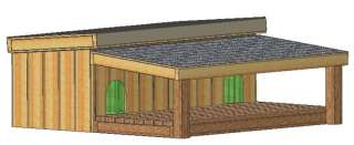 DOG HOUSE PLANS, 15 TOTAL, LARGE DOG, EASY TO BUILD PLANS ON CD