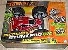 TONKA XT RICOCHET STUNT PRO R/C RED YELLOW   NEW