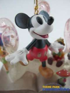 Disney Mickey Mouse Tinkerbell 75 Years Ornament & Base