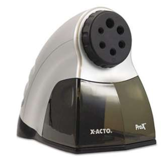 Acto 1612 Pencil Sharpener Silver ProX Electric NEW