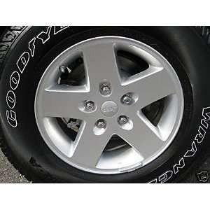 17 Inch Jeep Wrangler Wheels/rims (Set of 5 Rims