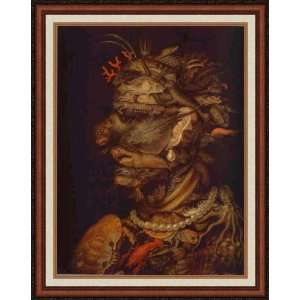 Water by Giuseppe Arcimboldo   Framed Artwork