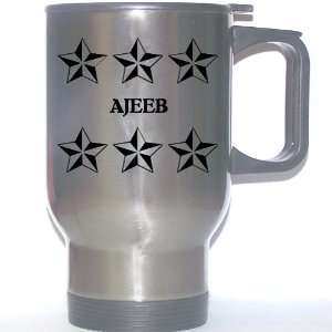 Gift   AJEEB Stainless Steel Mug (black design): Everything Else