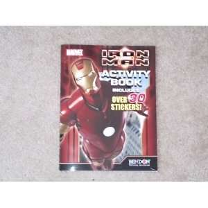 Iron Man Activity Book Toys & Games
