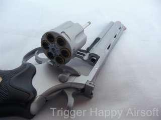 UHC TSD 357 Magnum Revolver 6inch spring Airsoft Guns Pistols