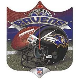 Baltimore Ravens NFL High Definition Clock
