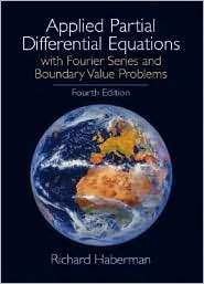 Applied Partial Differential Equations, (0130652431), Richard Haberman