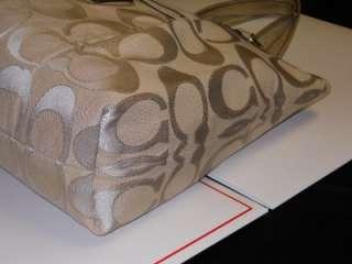 Light Khaki,Gold & Silver Lurex SIG Glam Tote/Handbag 16289