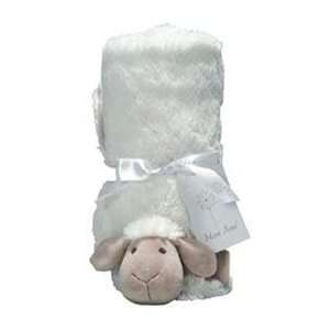Mon Ami Sheep Plush Stroller Baby Blanket Baby