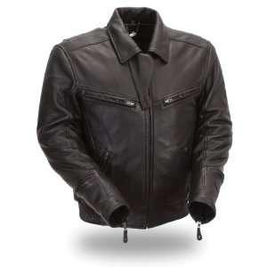 Manufacturing Mens Hybrid Jacket (Black, XXXXX Large) Automotive