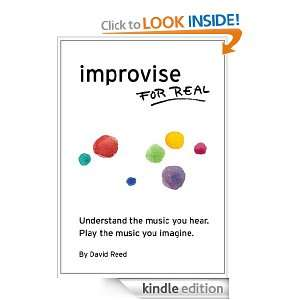 Improvise for Real: David Reed, Amy Nicholson, Mireia Clua Geli