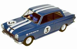 SCALEXTRIC Ford Lotus Cortina MK1 1964 #3 Slot Car #C3210
