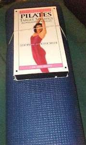 PILATES TARGET ~ABS,ARMS,HIPS,THIGHS VHS + WORKOUT MAT