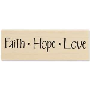 Faith, Hope, Love 02   Rubber Stamps Arts, Crafts