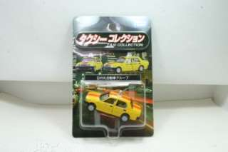 64 Tomy Tomica Limited Japan Taxi Collection Yellow