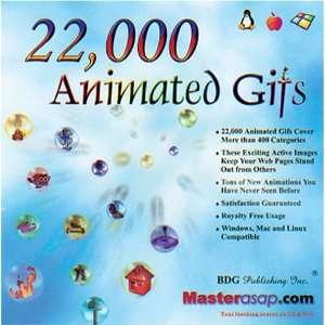 BDG PUBLISHING 22,000 Animated GIFs: Software