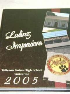 2005 Tolleson Union High school yearbook year book