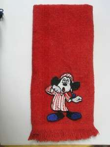 Disney Mickey Mouse sleepy hand TOWEL yawn