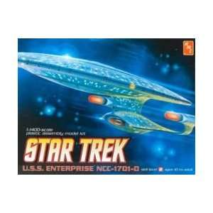 Star Trek Uss Enterprise Ncc 1701 d Plastic Model Kit