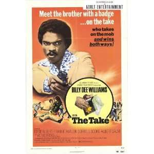 Take Movie Poster (27 x 40 Inches   69cm x 102cm) (1974)  (Billy Dee