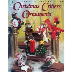 Plastic canvas Christmas critters ornaments Vicki Blizzard Books