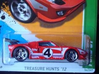Hot Wheels 2012 Treasure Hunts T Hunt NEW Ford GT