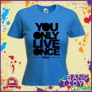 YOLO Drake You Only Live Once Hip hop, R&B, pop Music Womans T shirt
