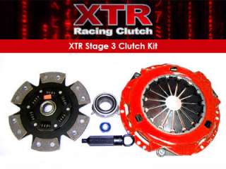 XTR RACING STAGE 3 CLUTCH KIT 95 04 TOYOTA TACOMA 4RUNNER T100 TUNDRA