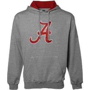 Alabama Crimson Tide Ash Classic Twill Hoody Sweatshirt (X