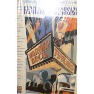 27x41 Original Movie Poster  Warner Bros. 75 Years Festival of
